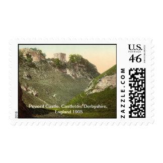 Castillo de Peveril, Castleton, Derbyshire, Inglat