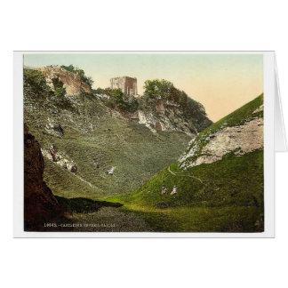Castillo de Peveril, Castleton, rar de Derbyshire, Felicitaciones