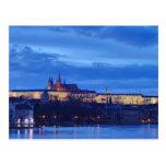 Castillo de Praga Tarjetas Postales