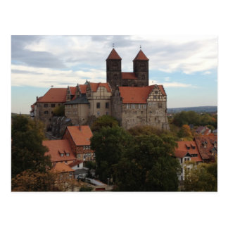 Castillo de Quedlinburg, Harz, Alemania Postal