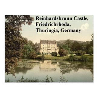 Castillo de Reinhardsbrunn, Friedrichrhoda, Postal