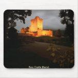 Castillo de Ross en la noche Mouse Pad
