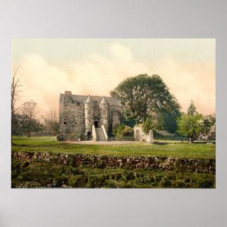 Castillo de Rowallan, Kilmarnock, Ayrshire, Escoci Poster