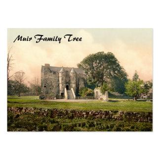 Castillo de Rowallan, Kilmarnock, Ayrshire, Escoci Plantillas De Tarjetas De Visita
