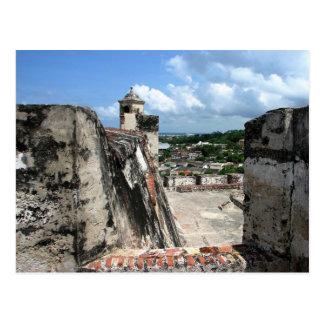 Castillo de San Felipe de Barajas Cartagena 1 Postcard