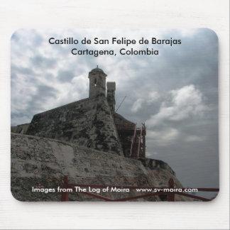 Castillo de San Felipe de Barajas Cartagena, Colom Mouse Pad