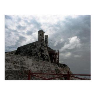Castillo de San Felipe de Barajas Cartagena, Colom Tarjeta Postal