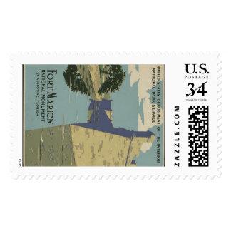 Castillo De San Marcos Custom Stamp