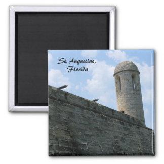 Castillo de San Marcos del fuerte de St Augustine Imanes