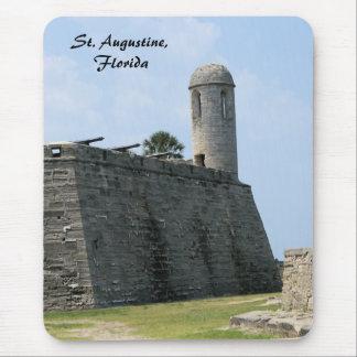 Castillo de San Marcos del fuerte de St Augustine Alfombrilla De Ratón