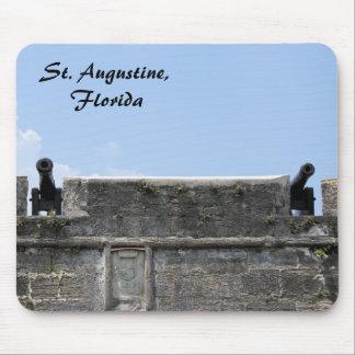 Castillo de San Marcos del fuerte de St Augustine  Tapete De Ratón