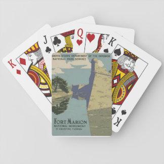 Castillo de San Marcos Playing Cards
