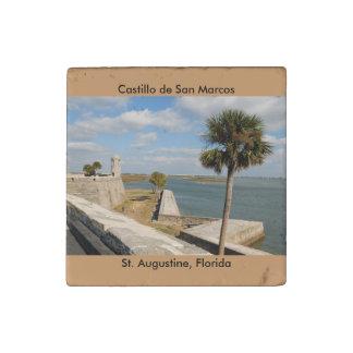 Castillo de San Marcos Stone Magnet