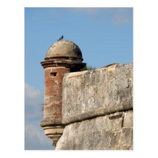 castillo de San Marcos Tarjeta Postal