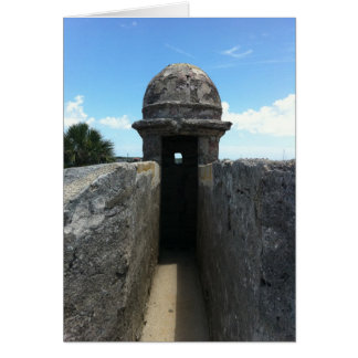 Castillo de San Marcos Turret, St. Augustine, FL Card