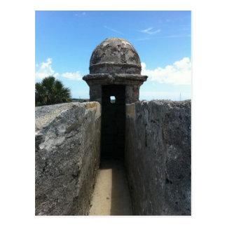 Castillo de San Marcos Turret, St. Augustine, FL Postcard