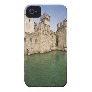 Castillo de Scaliger, Sirmione, provincia de iPhone 4 Case-Mate Fundas