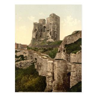 Castillo de Scarborough, Scarborough, Yorkshire, R Tarjeta Postal