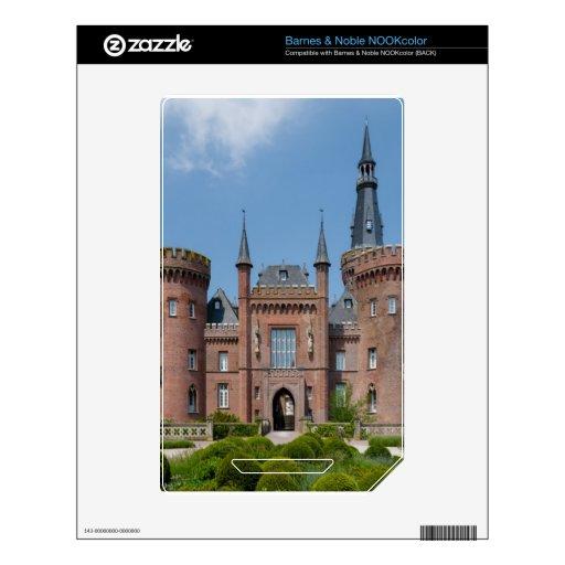 Castillo de Schloss Moyland Calcomanía Para El NOOK Color