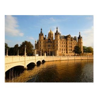 Castillo de Schwerin, Mecklemburgo-Pomerania Tarjetas Postales