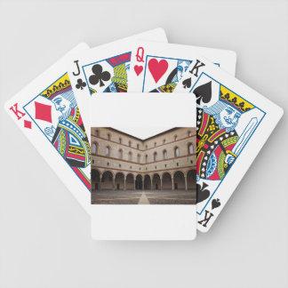 Castillo de Sforza (Castello Sforzesco) en Milano, Baraja De Cartas