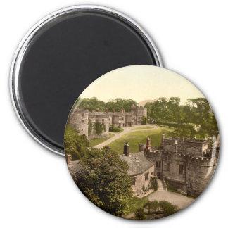 Castillo de Skipton, Yorkshire, Inglaterra Imán Redondo 5 Cm