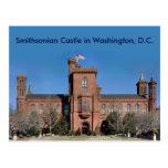 Castillo de Smithsonian en Washington, C.C. Postal