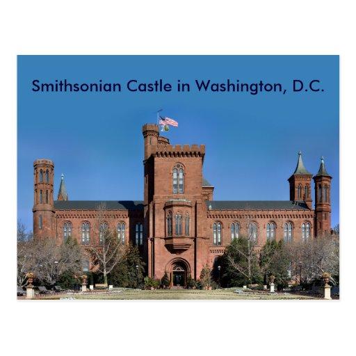 Castillo de Smithsonian en Washington, C.C. Postales