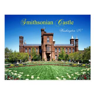 Castillo de Smithsonian, Washington DC Tarjeta Postal