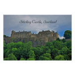 Castillo de Stirling, Escocia Poster