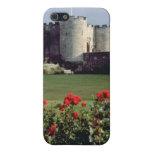 Castillo de Stirling, flores de Escocia iPhone 5 Protector