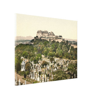 Castillo de Stirling impresión de la lona de Stir Impresión En Lienzo Estirada