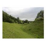 Castillo de Sycharth en Powys, País de Gales Postal