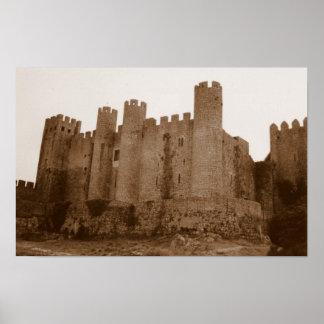 Castillo de Templar Poster