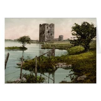 Castillo de Threave, castillo Douglas, Escocia Tarjeta De Felicitación