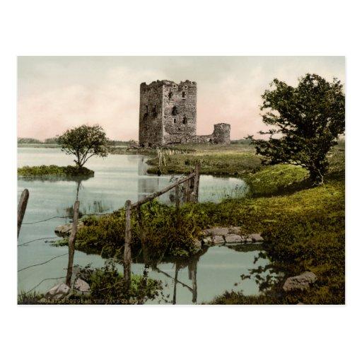 Castillo de Threave, castillo Douglas, Escocia Tarjeta Postal