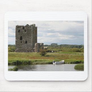 Castillo de Threave, Escocia, Reino Unido Alfombrilla De Ratón