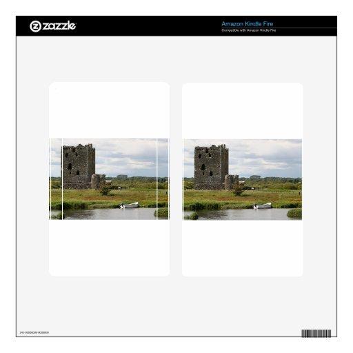 Castillo de Threave, Escocia, Reino Unido Kindle Fire Skins