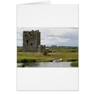 Castillo de Threave, Escocia, Reino Unido Tarjeta De Felicitación