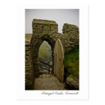 Castillo de Tintagel, postal de Cornualles
