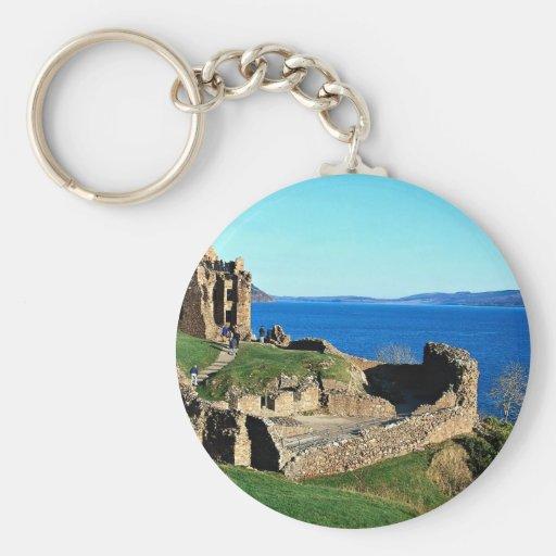 Castillo de Urquhart, Loch Ness, Escocia Llavero Personalizado