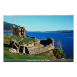 Castillo de Urquhart, Loch Ness, Escocia Posters