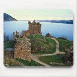 Castillo de Urquhart, Loch Ness, Escocia Tapetes De Raton