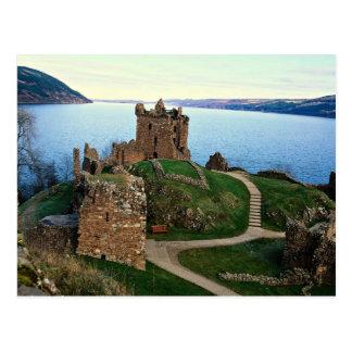 Castillo de Urquhart, Loch Ness, Escocia Tarjeta Postal