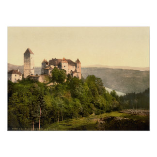 Castillo de Vaduz, Liechtenstein Posters