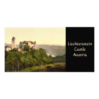 Castillo de Vaduz, Liechtenstein Tarjeta Personal Con Foto