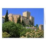 Castillo de Velez Blanco, Andalucía, España Tarjeta De Felicitación