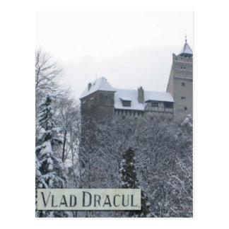 Castillo de Vlad Dracul Tarjeta Postal