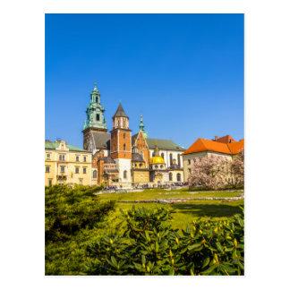 Castillo de Wawel, Kraków, Polonia Postales