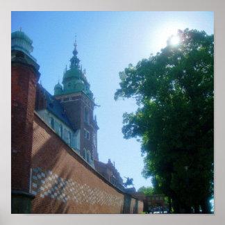 Castillo de Wawel Póster